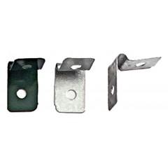Clip rogzito bilincs pvc-antracit