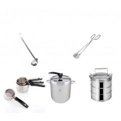 Rozsdamentes konyhai eszközök
